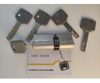 Цилиндр HQ LOCK HIGH SECURITY KIK CYLINDER Finish US32D (STEEL)