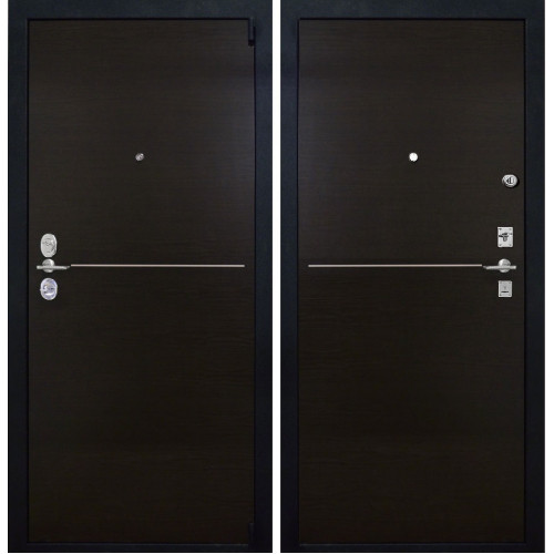 Надёжная входная дверь CISA (ЧИЗА) Т5 c итальянскими замками