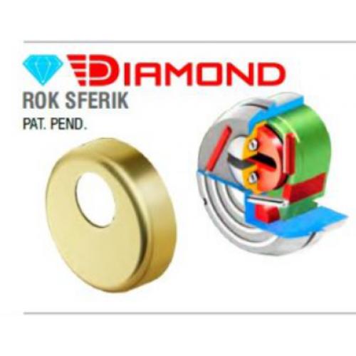 Броненакладка врезная Disec (Дисек) Diamond Rok Sferic