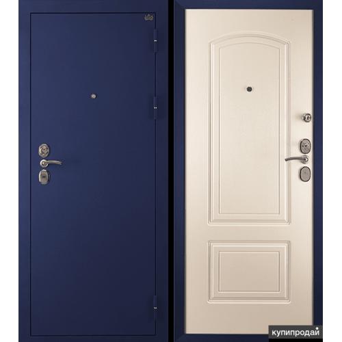 Входная дверь CISA (ЧИЗА) 4 СИНИЙ