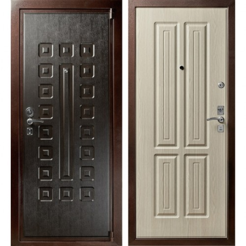 Надёжная входная дверь CISA (ЧИЗА) М5 c итальянскими замками