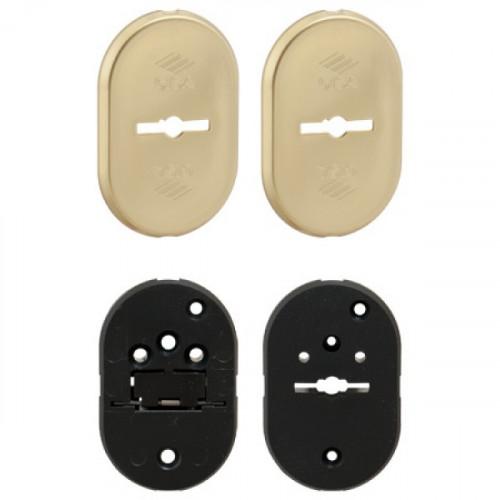 Декоративная накладка CISA 06.144.10.1 на сувальдный замок с направляющими для ключа